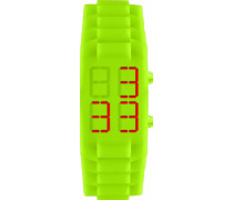 Jacques Lemans Unisex-Armbanduhr  Digital Quarz Silikon 374F