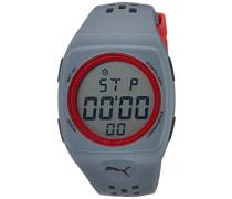 Puma Herren-Armbanduhr Digital Quarz Plastik A.PU910991006