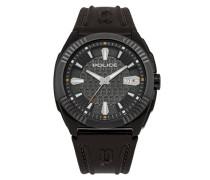 Police Seattle Herren-Armbanduhr Analog Quarz Leder - PL.93592AEU/61