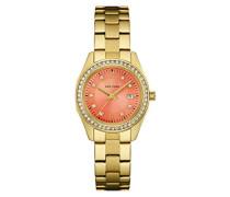 Caravelle New York Damen-Armbanduhr Analog Quarz Edelstahl 44M110