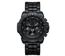 Navy SEAL Colormark Herren-Armbanduhr Chronograph Quarz Plastik - XS.3082.BO