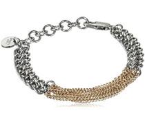 Damen-Armband 15/02 Tian/B Ss Gold Messing teilvergoldet 19 cm - 338173