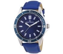 TOM TAILOR Herren-Armbanduhr XL Analog Quarz Leder 5412501