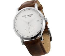 Damen-Armbanduhr LW37 Analog Quarz Leder 137SWBL