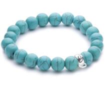 Heartbreaker Damen- Armband für charms 925 Silber Perle weiß 19 cm HB BL 77