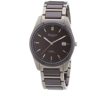 Regent Herren-Armbanduhr XL Analog Quarz verschiedene Materialien 11090300