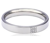 Damen-Ring Titan 9 Brillianten 0,045