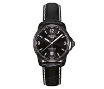 Certina Herren-Armbanduhr XL Analog Quarz Leder C001.410.16.057.02