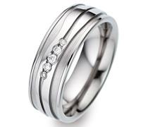 -Ehe, Verlobungs & Partnerringe Diamant Ringgröße 52 (16.6) - ORB52366/52