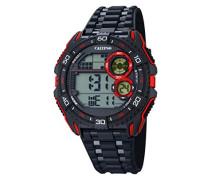 Herren-Armbanduhr Digital Quarz Plastik K5670/5
