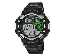 Herren-Armbanduhr Digital Quarz Plastik K5674/5