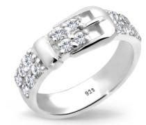 Damen-Ring Klassik  and the City 925 Sterling Silber mit Kristallen von Swarovski Größe 60 (19.1) 0605683111_60