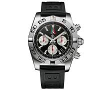 Herren-Armbanduhr  Chronomat 44 P.A.N. Frecce Tricolori AB01104D/BC62/153S Chronograph Gummi Schwarz AB01104DBC62153S