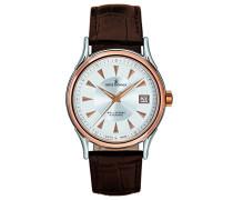 Herren-Armbanduhr WALLSTREET Analog Automatik Leder 20002.2558