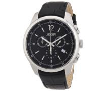 Herren-Armbanduhr XL Observer Analog Quarz Leder JP101171F03