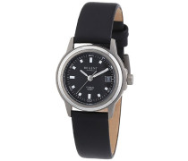 Regent Damen-Armbanduhr Analog Quarz Leder 12090250