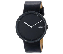 Alessi Herren-Armbanduhr Analog Automatik Leder AL13003