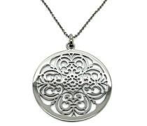 Damen Halskette Silber vergoldet cm ZH-6034/3