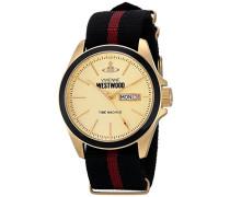 Herren Armbanduhr Camden Lock II Analog Textil mehrfarbig VV068GDBK