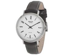 Damen-Armbanduhr Analog Quarz Leder 3246-03