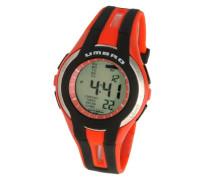 Herren-Armbanduhr Plastik rot U553R