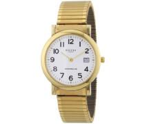 Herren-Armbanduhr XL Analog Edelstahl beschichtet 11300022