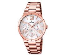 Damen-Armbanduhr Analog Quarz Edelstahl F16718/1