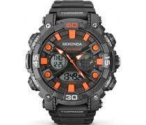 Sekonda Herren-Armbanduhr Digital Kein uhrwerk 1037.05