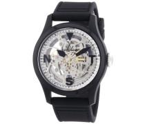 Damen-Armbanduhr Analog Automatik Silikon TTFS13BKSL