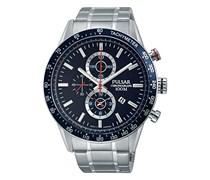 Pulsar Herren-Armbanduhr Chronograph Quarz verschiedene Materialien PF8439X1