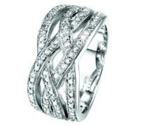 Damen-Ring Enlace Sterling-Silber 925
