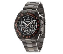 Police Herren-Armbanduhr Navy V Chronograph Quarz 14343JSUB/02M