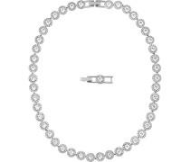 Damen-Collier Angelic rhodiniert Glas weiß - 5117703