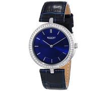 Regent Damen-Armbanduhr XS Analog Quarz Leder 12090290