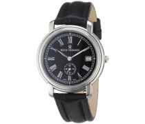 Herren-Armbanduhr XL Nostalgia Analog Automatik Leder 17071.4134