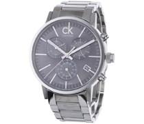 Calvin Klein Herren-Armbanduhr Postminimal Chrono St K7627161