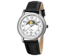 Herren-Armbanduhr Analog Quarz Leder 1026.1533