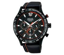 Herren-Armbanduhr WRC Analog Quarz Leder PT3695X1