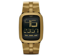 Swatch Quarzuhr Unisex Gold Bump  39 mm
