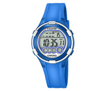 Damen-Armbanduhr Digital Quarz Plastik K5692/4