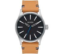 Unisex-Uhr Digital mit Lederarmband – A377-2299-00