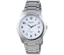Herren-Armbanduhr XL Analog Quarz Edelstahl 11150583