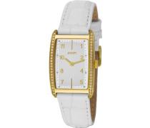 Damen-Armbanduhr Transcendence Analog Quarz Leder JP101012F04