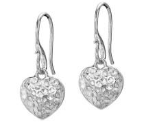 Damen-Ohrringe Silber 2.5 cm - NE260-S