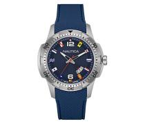 Herren-Armbanduhr Analog Quarz Silikon NAI13515G
