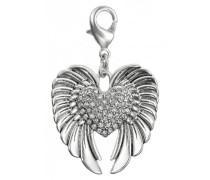 Jewelry Damen-Anhänger aus der Serie Mega Charm versilbert grau 4.5 cm 411246101