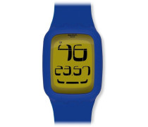 Swatch Quarzuhr Unisex Yellow Flake  39 mm