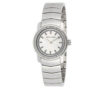 Pierre Cardin Damen-Armbanduhr Analog Quarz Edelstahl PC101612F05