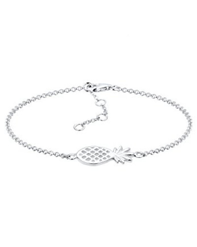Damen-Armband Ananas 925 Sterling Silber 17 cm 0206312216_17