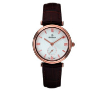 3276.1564 Women'Schweizer Quarz-Armbanduhr 1725.1562 Analog Quarz Leder braun